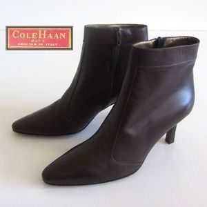 new COLE HAAN City pointed toe ankle boots 8 ITALY